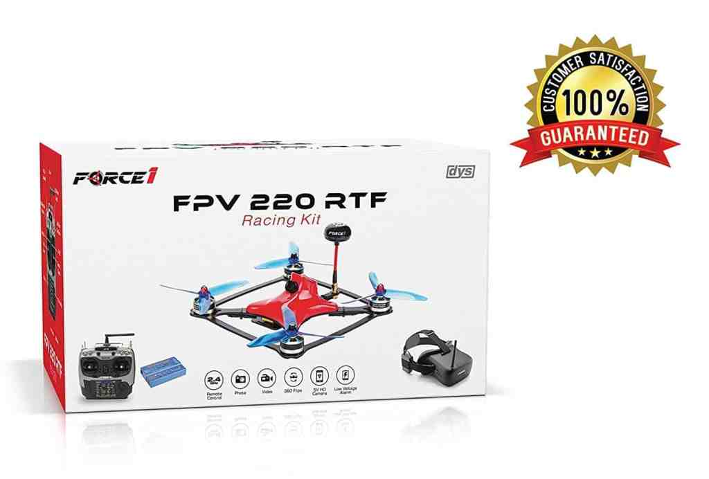fpv drone racing kit box