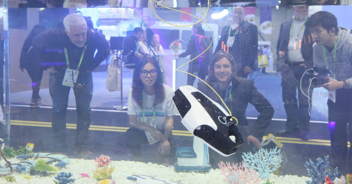 CES 2019 Underwater Tank Demo