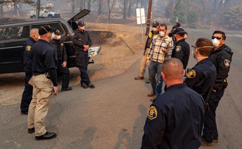 Greg Crutsinger CA Wildfires Drone Data