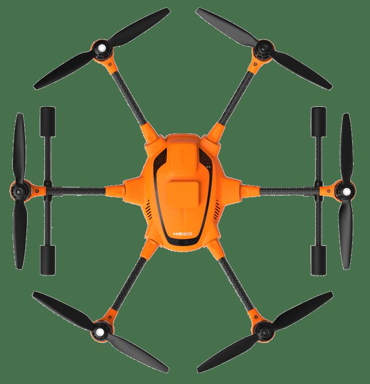 H520-RTK-top view