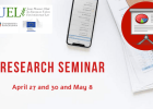 Research seminar (2019-2020 Edition)