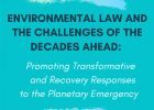 "VI Tarragona International Environmental Law Colloquium: ""Environmental Law and the Challenges of the Decades Ahead: Promoting Transformative and Recovery Responses to the Planetary Emergency"""