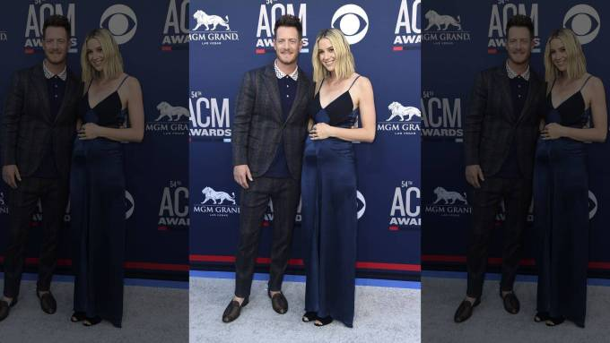 Florida Georgia Line Tyler Hubbard was seen in American Flag Outfits for the 2019 ACM Awards Performance