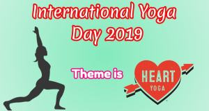 International Yoga Day 2019 Theme