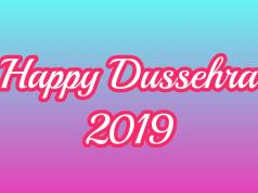 Happy Dussehra 2019