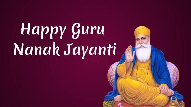Happy Guru Nanak Jayanti 2020