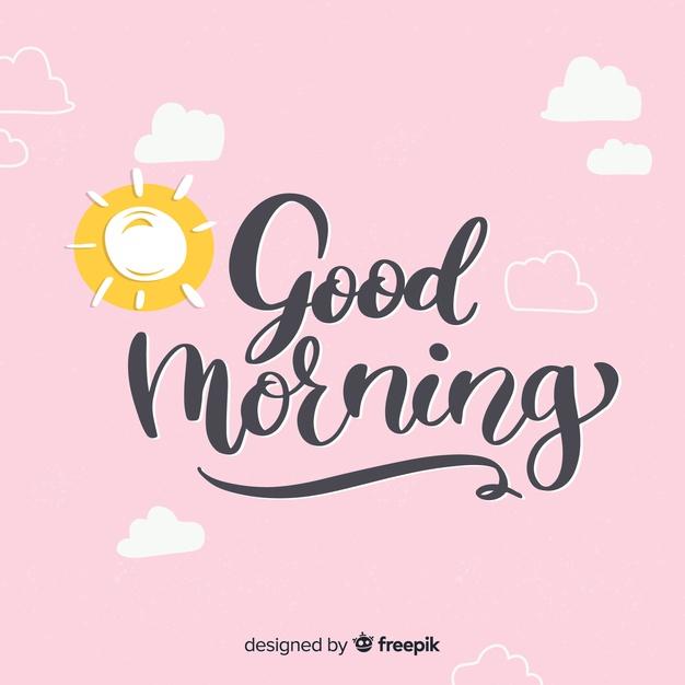 good morning images cartoon