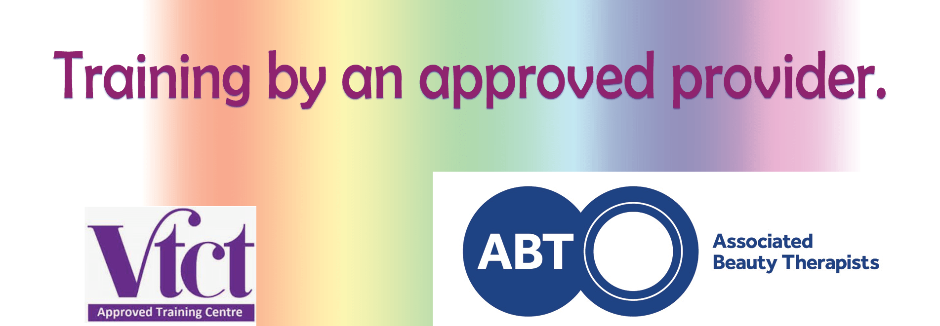 Approved beauty training provider