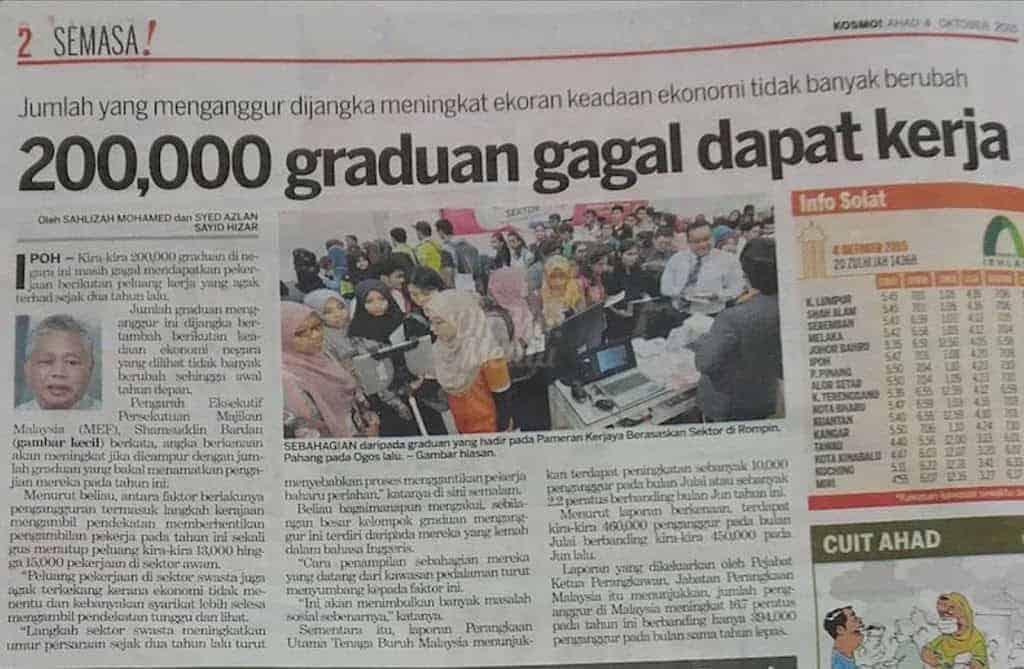10 Ijazah Yang Paling Senang Dapat Kerja Di Malaysia 1