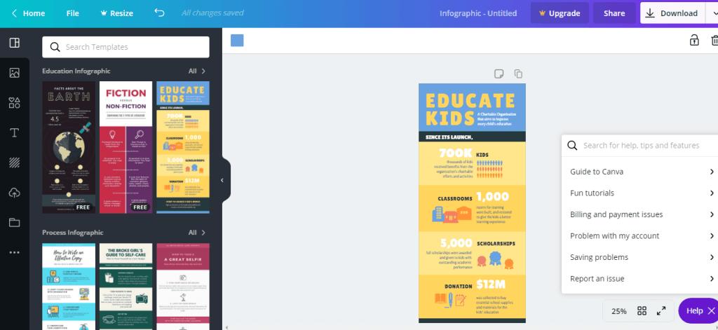 5 Platform Bina Infografik Dengan Mudah Secara Online 1