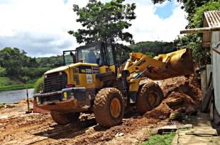 Chuvas dificultam andamento de obras em Taboquinhas