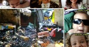 Cinco crianças da mesma família morrem durante incêndio em MG