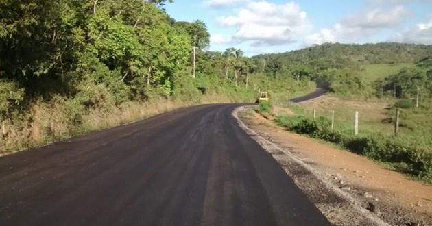 Itacaré: Faltam apenas 3 Km para a conclusão da estrada de Taboquinhas
