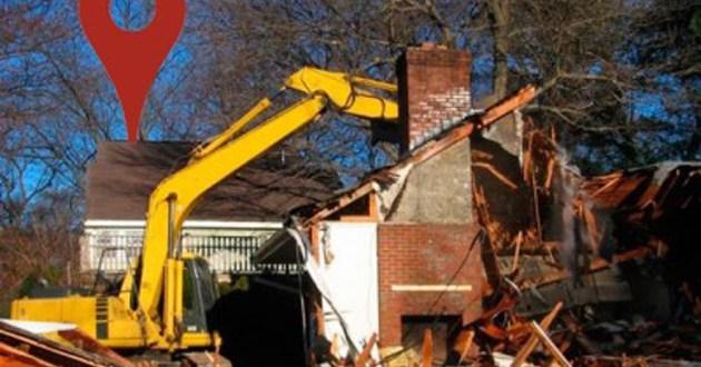 Empresa de demolição derruba a casa errada e funcionário culpa Google Maps