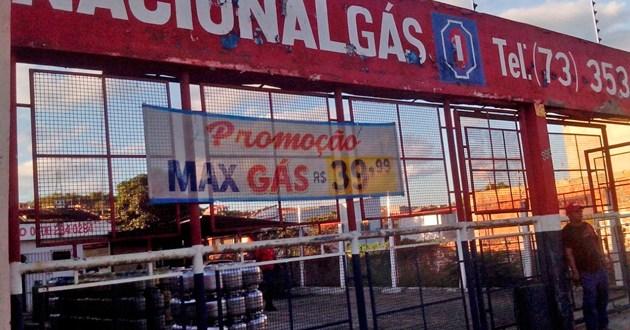 Itacaré, Camamu e Ubaitaba tem o gás de cozinha mais caro da região