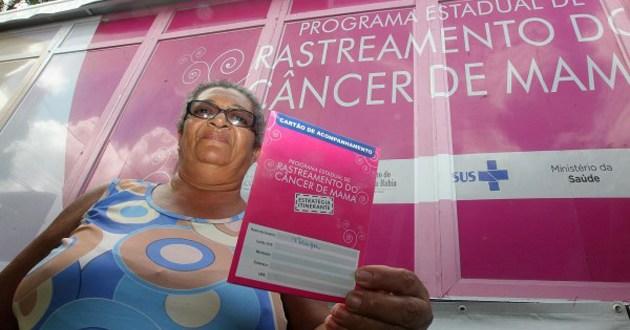 Ação oferece rastreamento de câncer de mama em Itagi e Itagibá