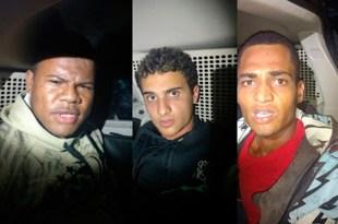 PRF prende suspeitos de assaltos em Travessão e Ibirapitanga