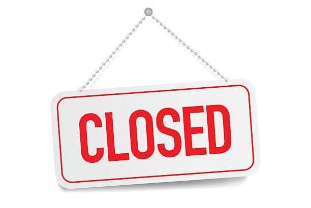 GWに伴うウーバーイーツ登録センター休業のお知らせ