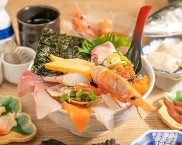 ワダツミ(大阪)海鮮丼画像