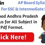Andhra Pradesh Board Syllabus 2021