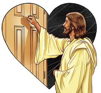 Resultado de imagen de mirad que estoy a la puerta y llamo