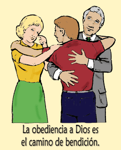 obediencia a los padres colouring pages