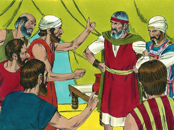 Image result for israelites complaining in the wilderness