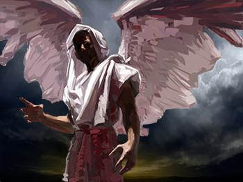 One day pride entered Lucifer's heart and he rebelled against God.