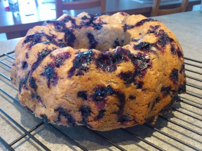 Wild Blueberry Brunch (Bundt!) Cake
