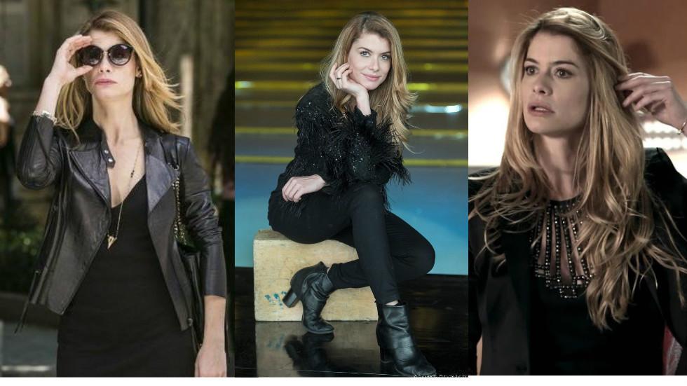 Looks de Novela: Alinne Morais, a Diana de Rock Story