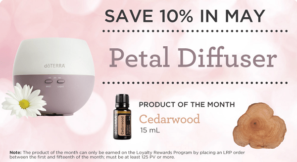 Essential oil promotions May 2017