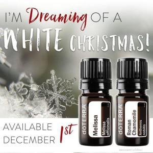 doTERRA Roman Chamomile and Melissa Oils Available