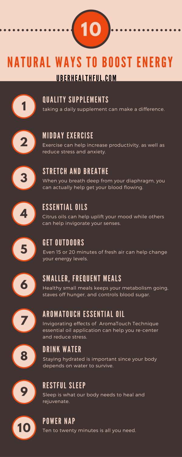natural healthy energy boosters