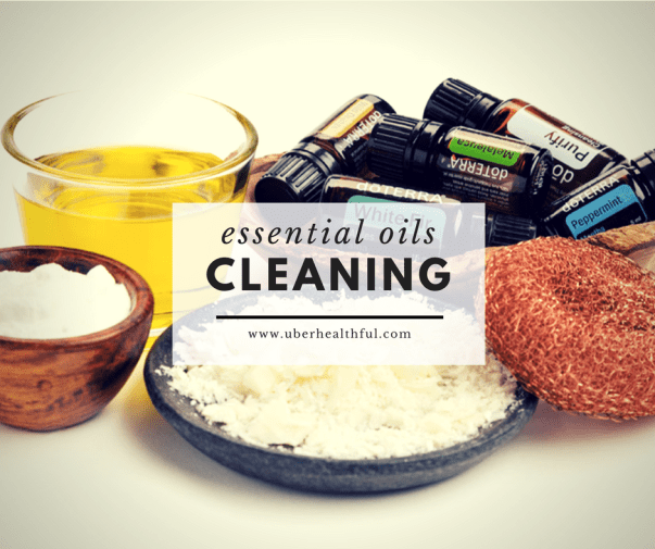 Using Essential Oils as cleaning products