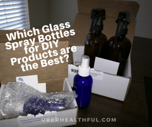 Which Glass Spray Bottles for DIY Products are the Best?