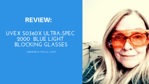 Review: Uvex S0360X Ultra-spec 2000  Blue Light Blocking Glasses