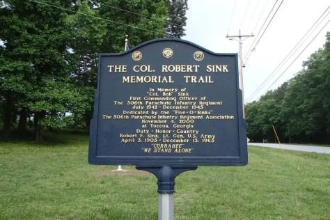 Col. Robert Sink Memorial Trail