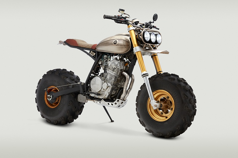 Classified Moto Honda XR650L is a Stunner
