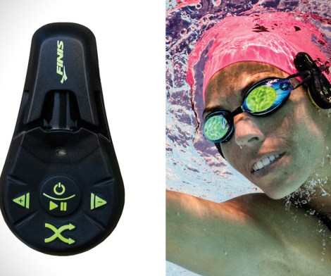 Don't leave music underwater with Finis Duo underwater MP3