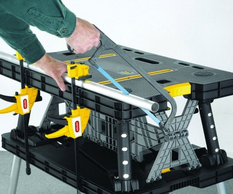Kerter adjustable folding work station