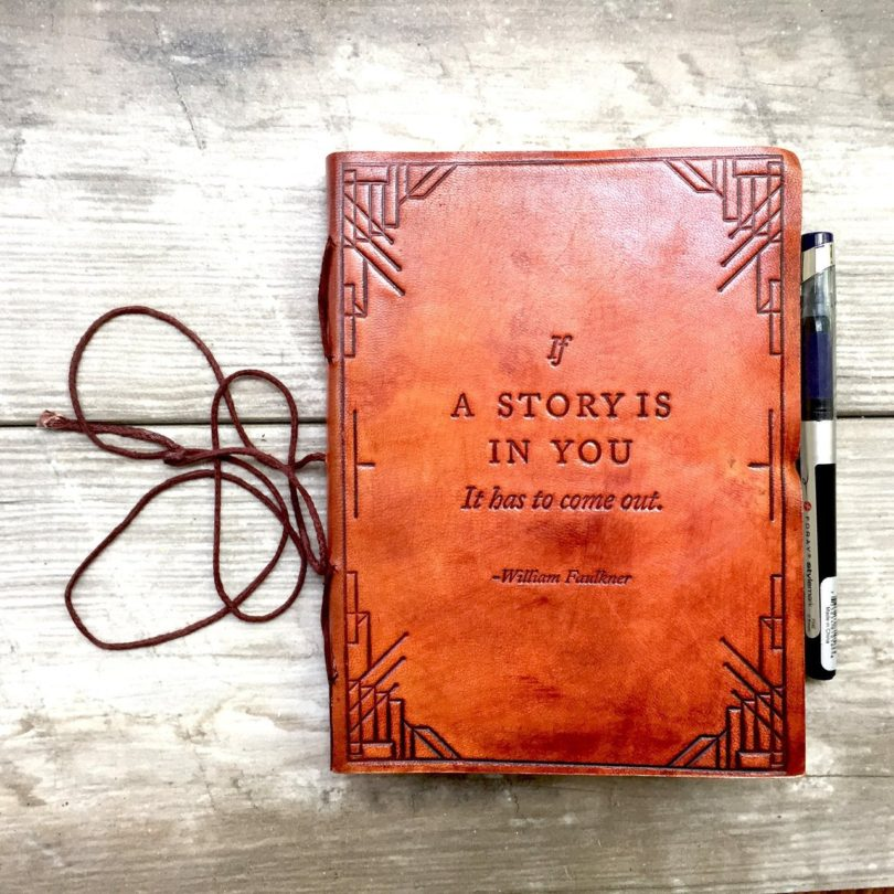 If A Story Handmade Leather Journal