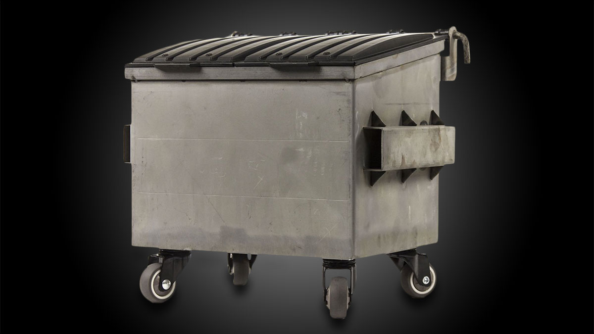 Dumpsty Steel Desktop Dumpster