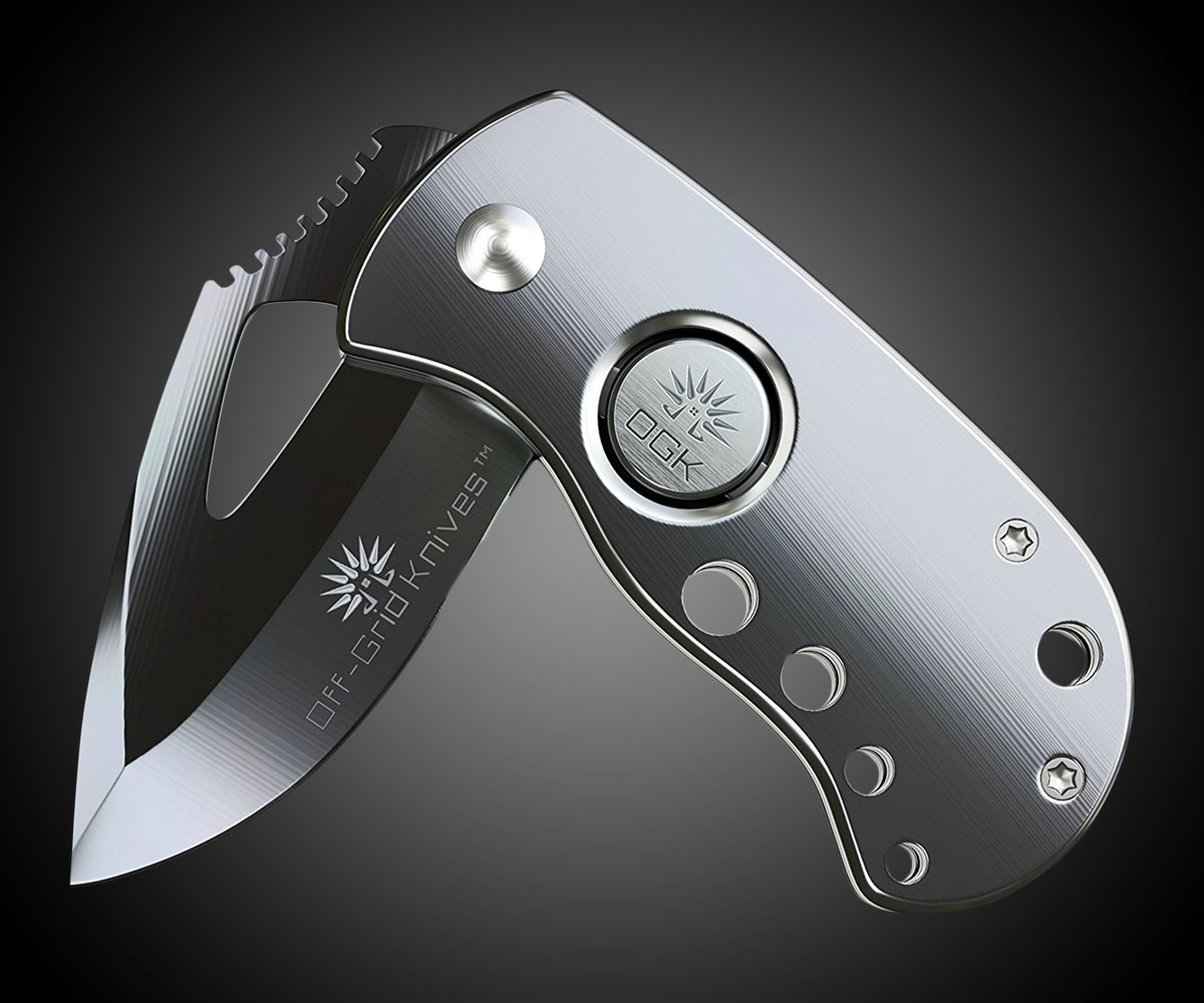 Off-Grid Knives Stout Drop Point Blade