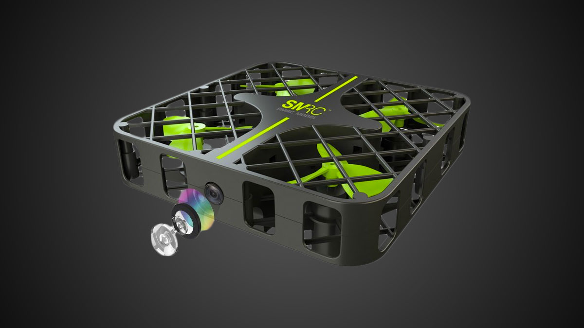 M8 Cube Cage Mini Drone with HD Camera