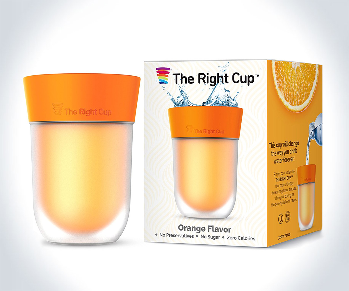 The Right Cup – Brain-Tricking Flavored Cup