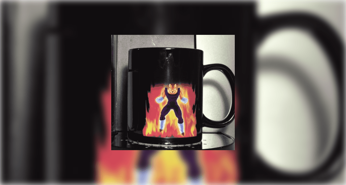 Dragon Ball Z Color Changing Mugs