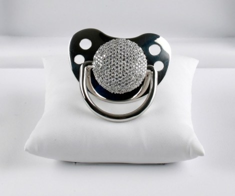 Diamond Studded Pacifier
