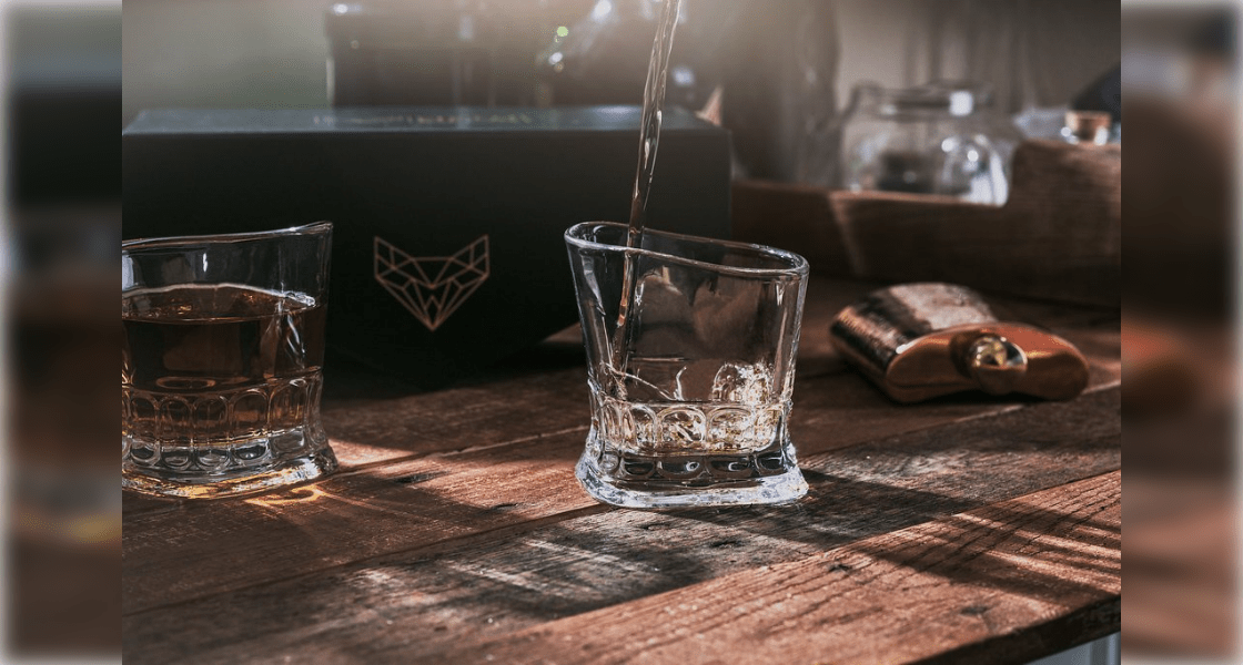 Crystal Whiskey Glasses