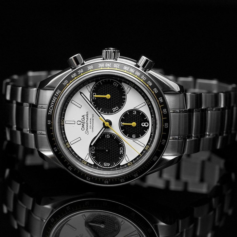 Omega Speedmaster Racing Co-Axial White Dial Watch