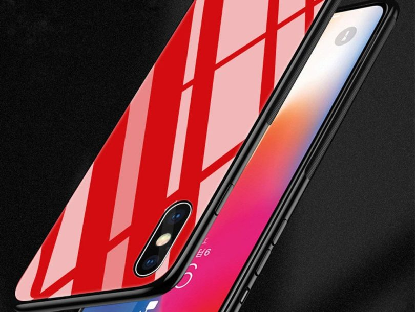 iPhone X Case – Tempered Glass Back Cover